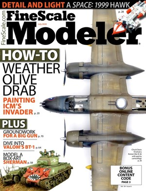 Finescale Modeler Magazine | 7/2020 Cover