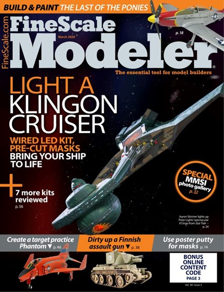 Finescale Modeler Cover - 3/1/2020