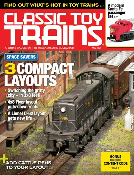 Classic Toy Trains Cover - 5/1/2020