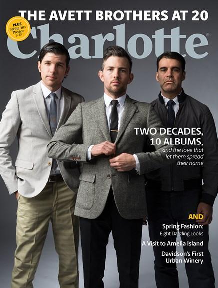 Charlotte Magazine Cover - 3/1/2020