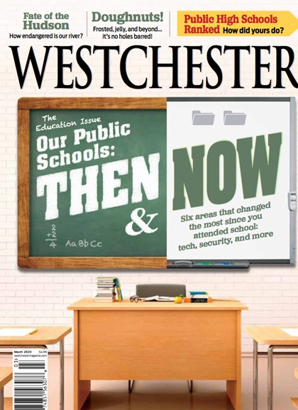 Westchester Magazine Cover - 3/1/2020