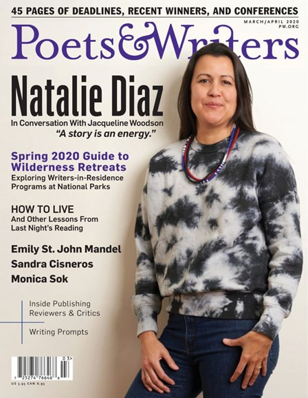 Poets & Writers Cover - 3/1/2020