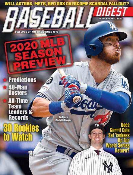 Baseball Digest Cover - 3/1/2020