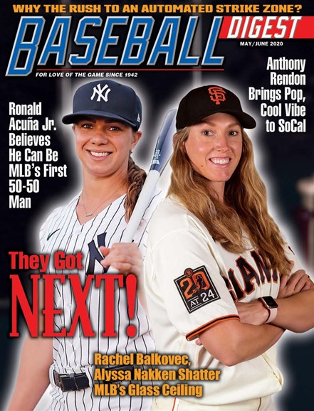 Baseball Digest Cover - 5/1/2020