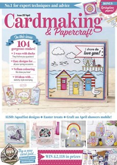 CardMaking & PaperCrafts | 4/2020 Cover