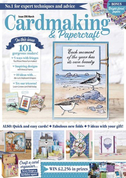CardMaking & PaperCrafts Cover - 3/1/2020