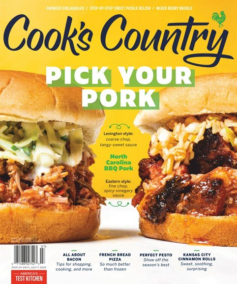 Cook's Country Cover - 6/1/2020