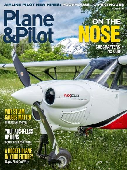 Plane & Pilot Cover - 3/1/2020