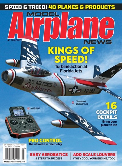 Model Airplane News Cover - 7/1/2020