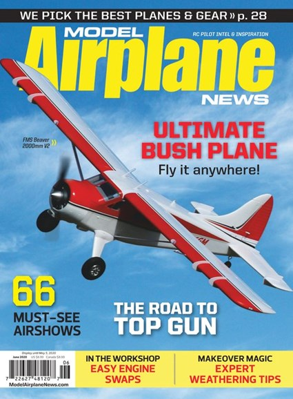 Model Airplane News Cover - 6/1/2020