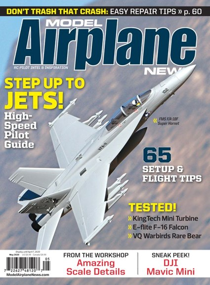 Model Airplane News Cover - 5/1/2020