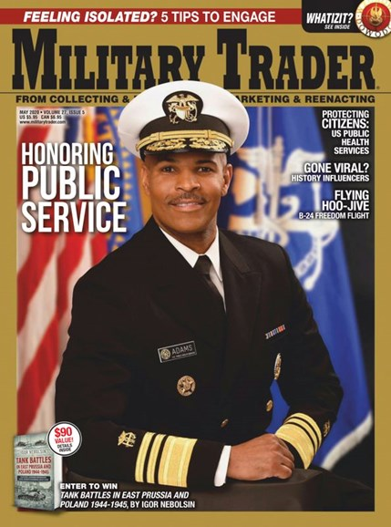 Military Trader Cover - 5/1/2020