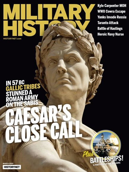 Military History Cover - 3/1/2020