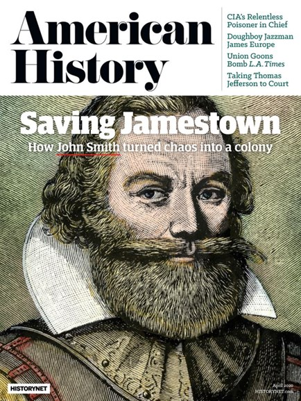 American History Cover - 4/1/2020