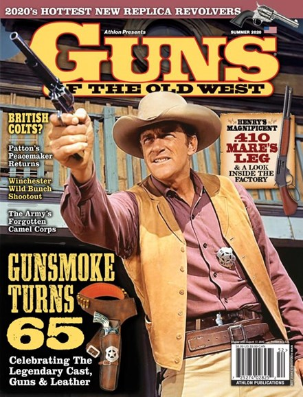 Guns Of The Old West Cover - 7/1/2020