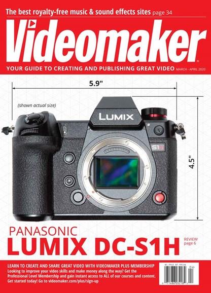 Videomaker Cover - 3/1/2020