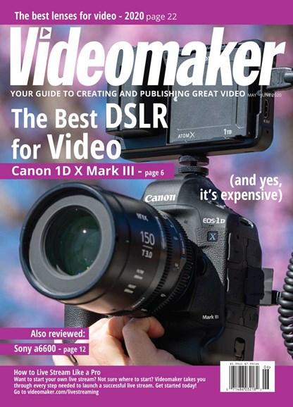 Videomaker Cover - 5/1/2020