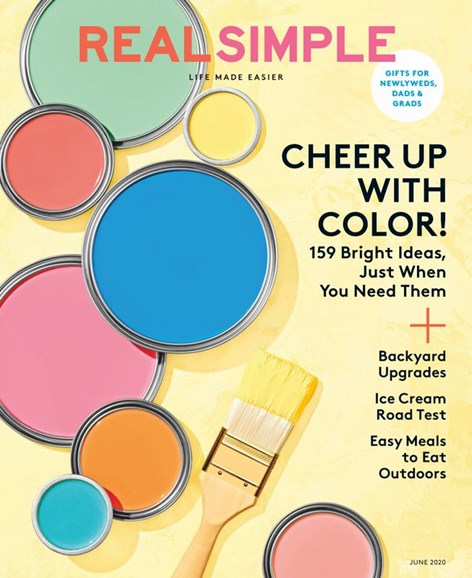 Real Simple Cover - 6/1/2020