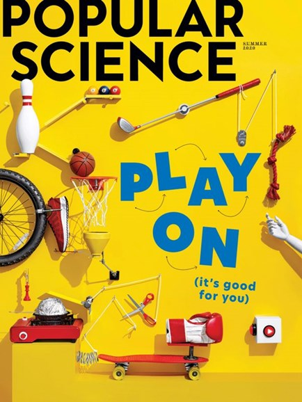 Popular Science Cover - 6/1/2020