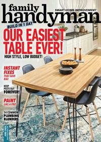 Family Handyman Magazine   6/2020 Cover