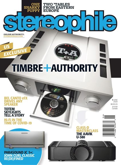 Stereophile Cover - 6/1/2020