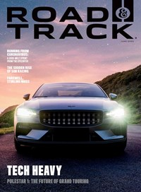 Road and Track Magazine   6/2020 Cover