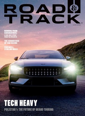 Road and Track Magazine | 6/2020 Cover