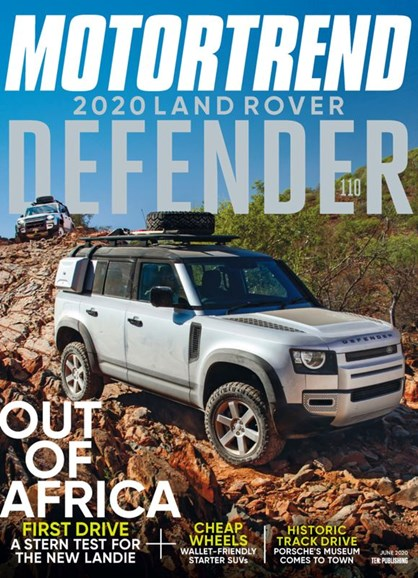 Motor Trend Cover - 6/1/2020
