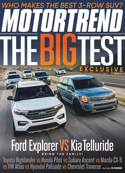 Motor Trend Cover - 5/1/2020