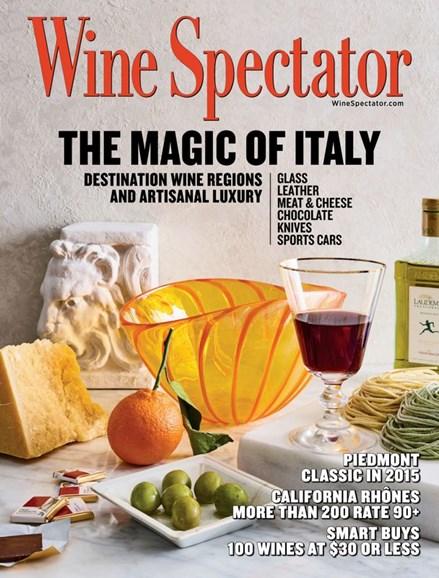 Wine Spectator Cover - 4/30/2020