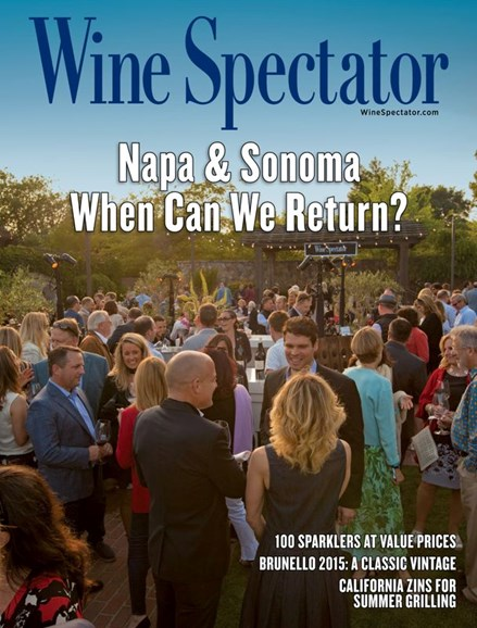 Wine Spectator Cover - 6/15/2020