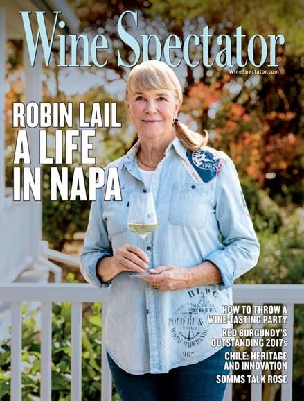 Wine Spectator Cover - 5/31/2020