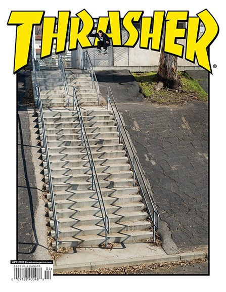 Thrasher Cover - 4/1/2020