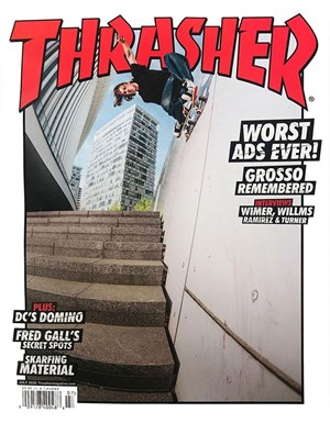 Thrasher Magazine | 7/2020 Cover