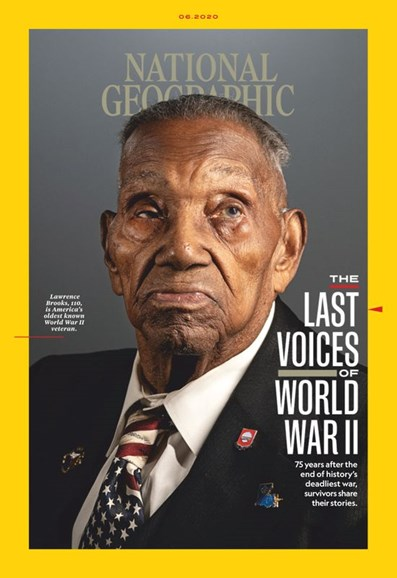 National Geographic Cover - 6/1/2020