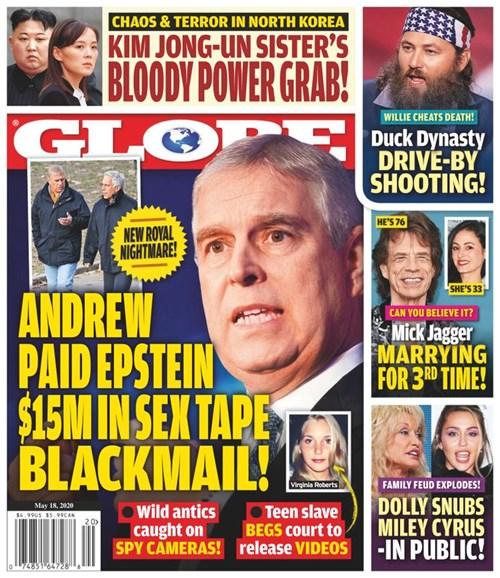 Globe Cover - 5/18/2020
