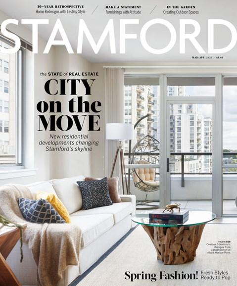 Stamford Magazine Cover - 3/1/2020