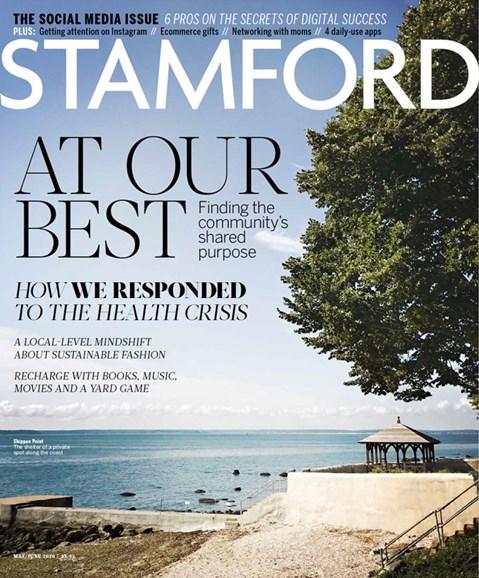 Stamford Magazine Cover - 5/1/2020