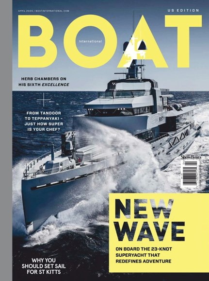 Boat International Cover - 4/1/2020