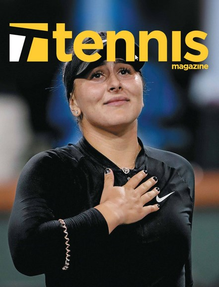 Tennis Magazine Cover - 3/1/2020