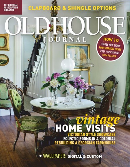 Old House Journal Cover - 6/1/2020
