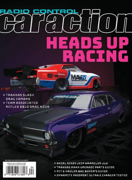 Radio Control Car Action Cover - 4/1/2020