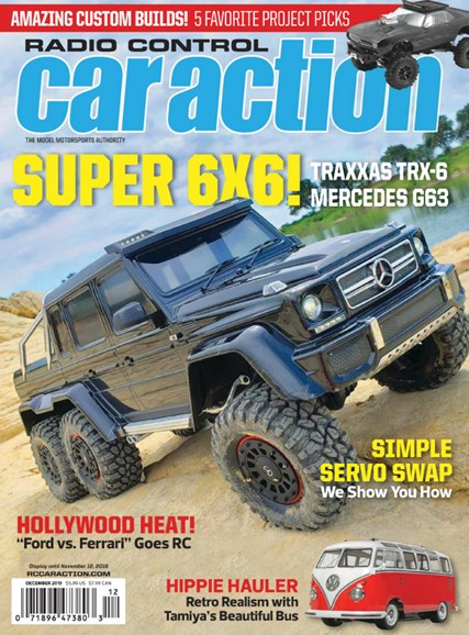 Radio Control Car Action Cover - 12/1/2019