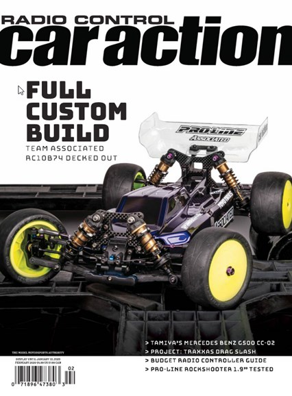 Radio Control Car Action Cover - 2/1/2020