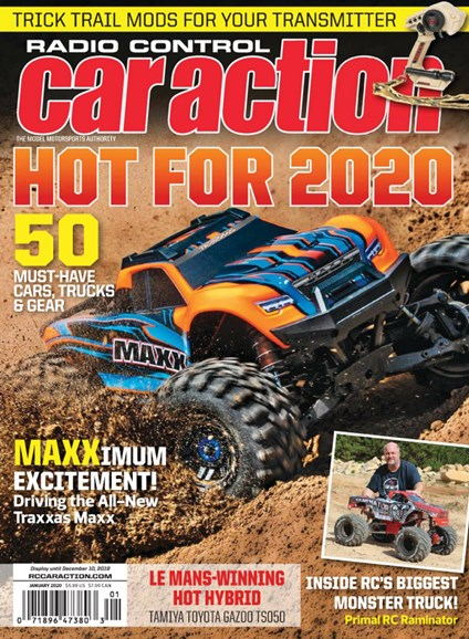 Radio Control Car Action Cover - 1/1/2020