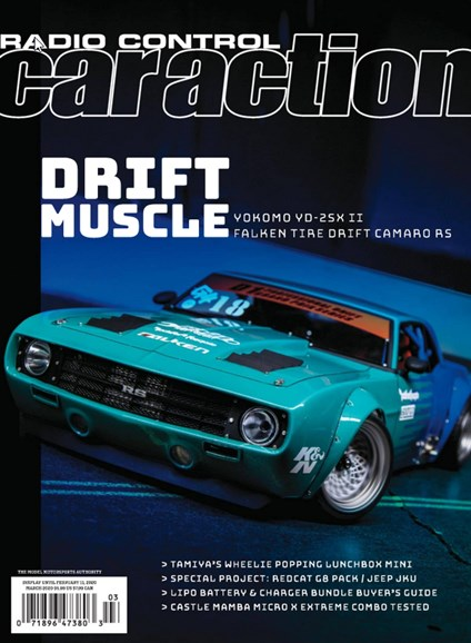 Radio Control Car Action Cover - 3/1/2020