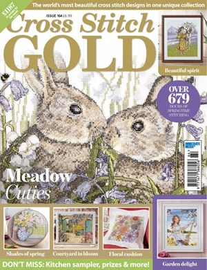 Cross Stitch Gold Magazine | 4/2020 Cover