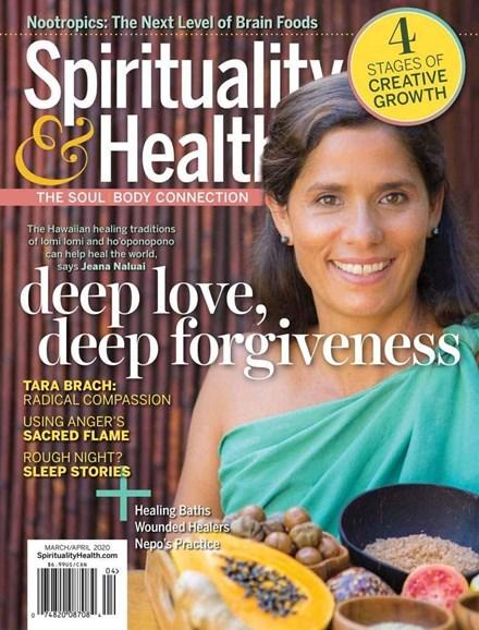 Spirituality & Health Cover - 3/1/2020