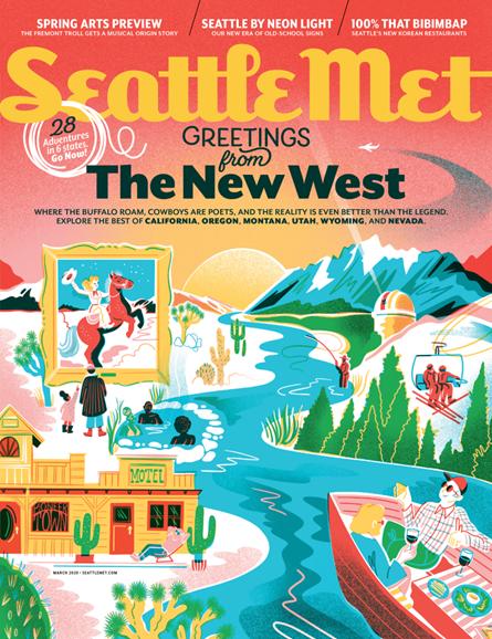 Seattle Met Cover - 3/1/2020