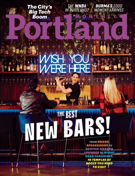 Portland Monthly Cover - 3/1/2020